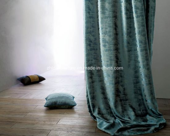 Modern Style Home Hotel Jacquard Curtain Fabric for Sofa, Curtain, Furniture pictures & photos