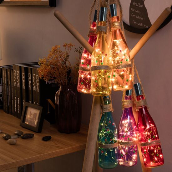 China copper wire string lights with cork 3m 10 leds for diy party copper wire string lights with cork 3m 10 leds for diy party decor christmas halloween wedding or mood lights keyboard keysfo Image collections