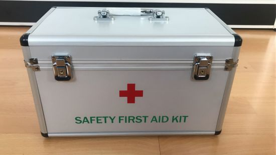 Silvery Aluminum Medical Case/First Aid Case (KeLi-1109)