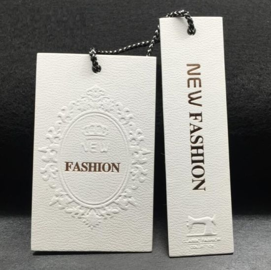 OEM ODM Customized Wholesale Price Garment Textile Hang Tag