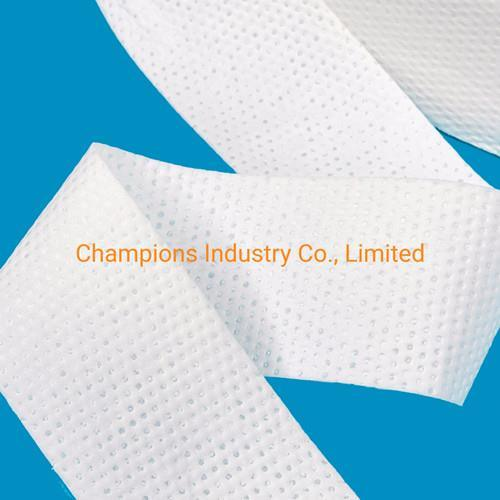 Absorbent Paper with Sap for Making Sanitary Napkin