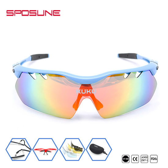 f7754dad477 China Outdoor Sports Sunglasses with Tr90 Frame PC Lens - China ...