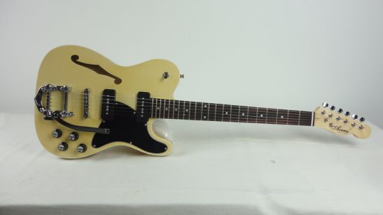 Bigsby Thinline F Hole Tele Style Solid Body Electric Guitar pictures & photos