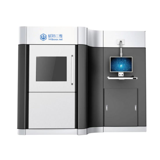 Wiiboox Slm250 Wholesale High Accuracy Laser Forming Slm Technology Metal 3D Printer pictures & photos