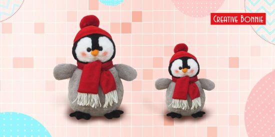 Stuffed Plush Penguin Christmas Toys