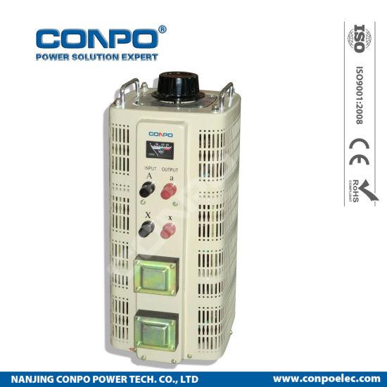 Tdgc2-20kVA 1phase Contact Voltage Regulator/Variable Transformer