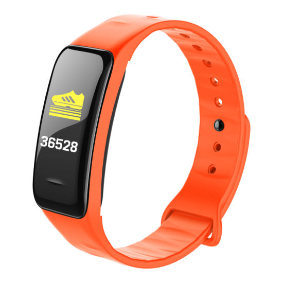 Cheap Less Than USD6.7/PCS Color Screen C1 Android Sport Smart Watch 2018 Business Watch GPS Tracker with Sdk and API Waterproof IP67 Heart Rate