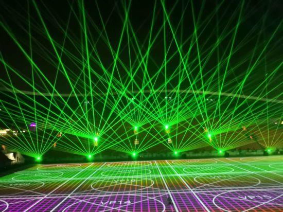 30W Green Laser Light Outdoor Stage Light Landmark Light