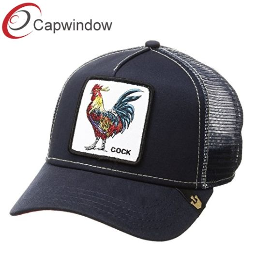 c6f0b295e1b China The Cock Animal Farm Snap Back Trucker Hat with Custom Woven ...