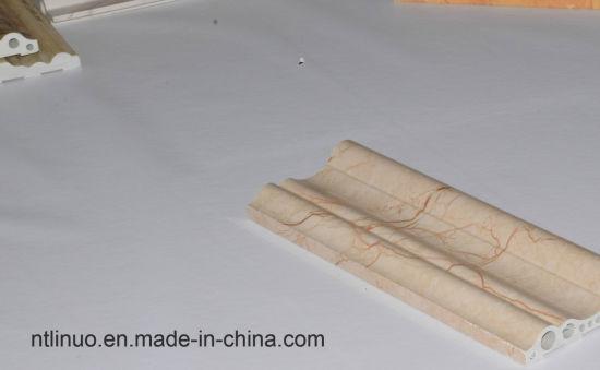 Plastic Interior PVC Decoration Edge Trim Mouldings