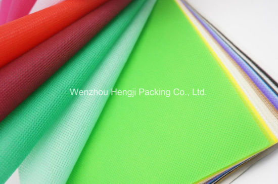 Spun-Bonded 100% PP Colorful Nonwoven Fabric Supplier