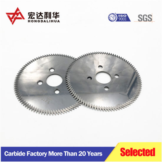 Top Quality Tungsten Carbide Circular Saw Blade for Cutting Stainless Steel pictures & photos
