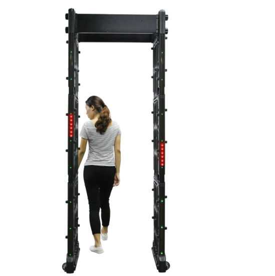IP67 Touch Screen Waterproof Standard Portable Folding Walk Through Metal Detector pictures & photos