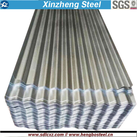(0.125--1.3mm) Galvalume Corrugated Steel Roofing Sheet pictures & photos