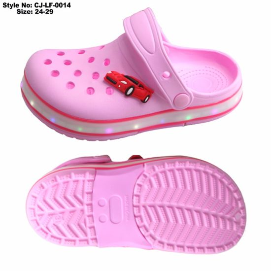 ff4a97f40862fe China EVA Children Clog Sandal Light up LED Shoes - China EVA Clog ...