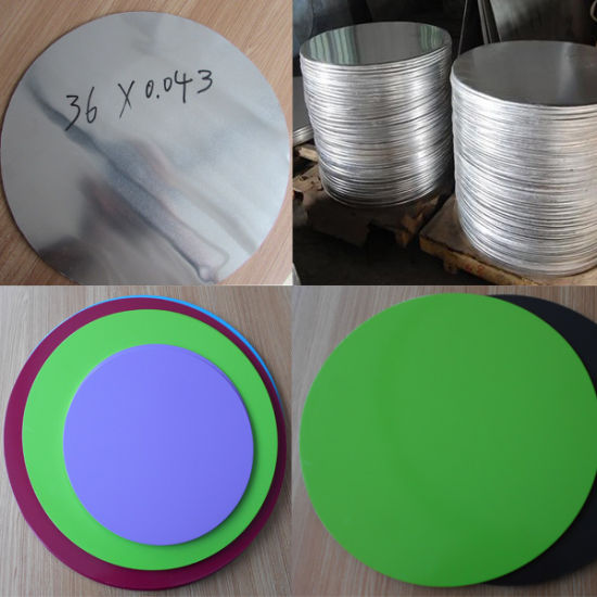 Aluminium Circle Aluminium Circles for Utensils Hot Rolling Cold Rolling Aluminium Circles Prices pictures & photos