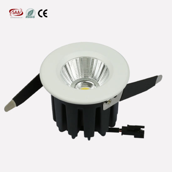 Commercial Lighting Triac Dimmable 2.5 Inch 60mm Cut out High CRI COB Downlights 10W & China Commercial Lighting Triac Dimmable 2.5 Inch 60mm Cut out High ...