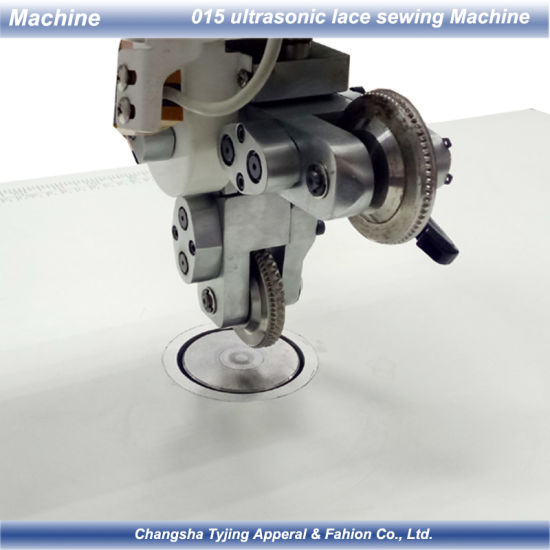 2 Wheels of Ultrasonic Edge Cutting Bonding Embossing Welding Sewing Machine