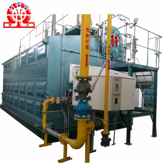 China Double Drum Gas (oil) Fired Boiler Hot Water Output - China ...