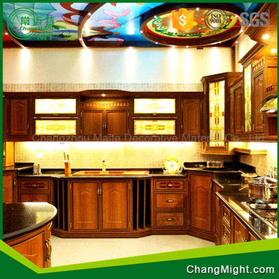 Professional Compact Laminate Kitchen Cabinets System in China / HPL Board pictures & photos
