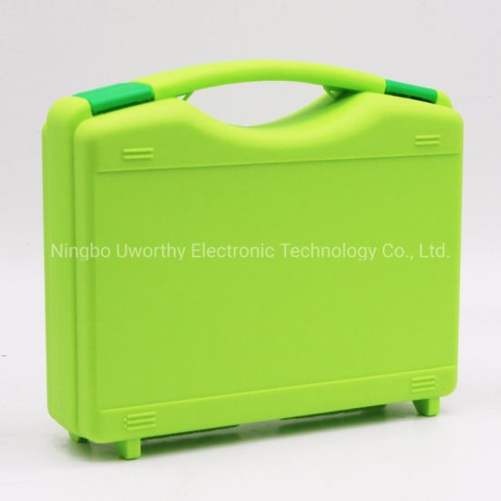 Sturdy PP Material Handle Carrying Transport Plastic Equipment Tool Small Cases