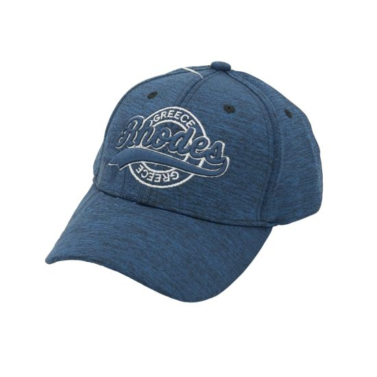 2019 Hot Sale Dark Navy Cationic Polyester Embroidery Riding Baseball Cap with 3D Embroidery
