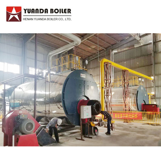 Steam Boiler Fire Tube 10ton 150psi Fire Tube Dual Fuel Furnace Oil and Gas