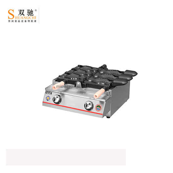 Stainless Steel Commercial Gas Fish Cake Machine for Wholesale pictures & photos