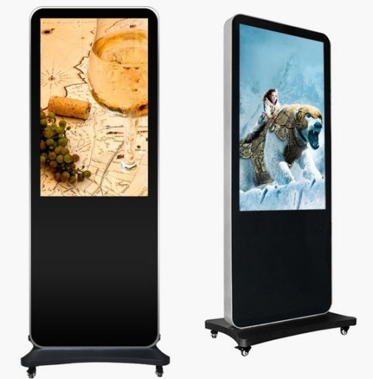 60inch Loop Video Android Indoor Digital Signage Media Player Advertising Box with Camera and Software