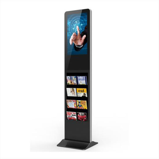 21.5inch Android Floor Standing LCD Digital Signage Touch Screen Totem pictures & photos