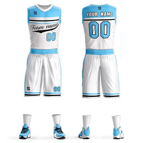 Custom Top Quality Men Women Kids Basketball Jerseys Sets Uniforms