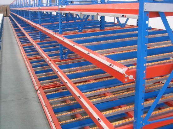 Logistic Storage Equipment Carton Flow Through Rack