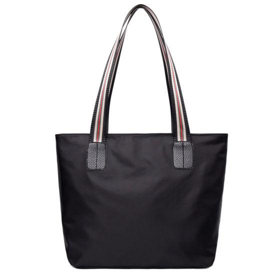 Gift Women Ladies Handbags Fashion Shopping Shoulder Bags Eco Friendly Computer Nylon Tote Bags