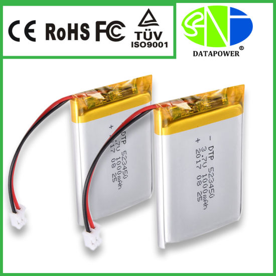 China Supplier Juul Lipo 3 7V 1000mAh Lithium Polymer