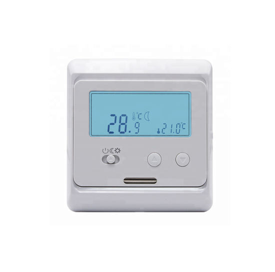 16A Electrical Digital Temperature Controller for Floor Heating Mat