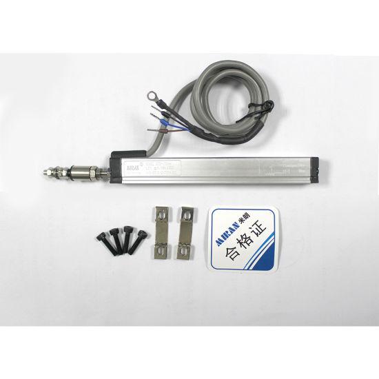 Thin Pull rod KTM linear displacement sensor ruler Resistive position transducer