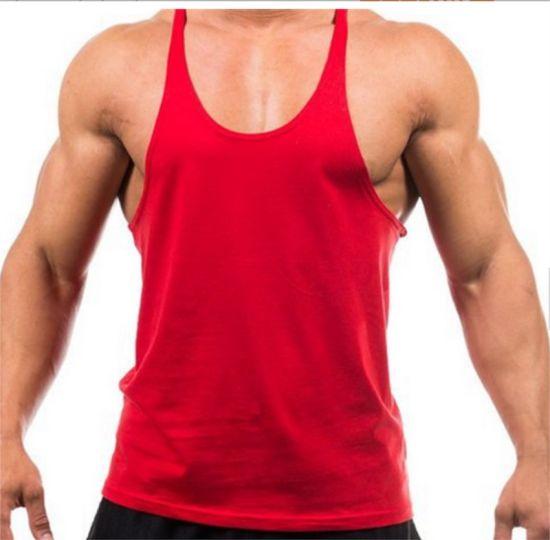 a476950576cbad China Cheap Muscle Wholesale Men Tops Plain Gym Tank Tops - China ...