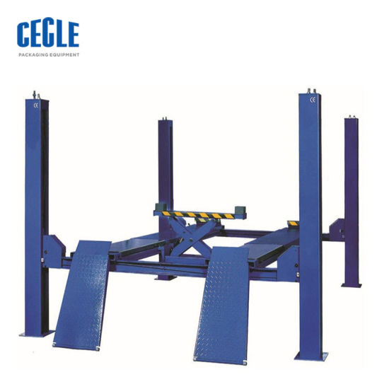 4 Poles Roll Car Parking Lift up Ground