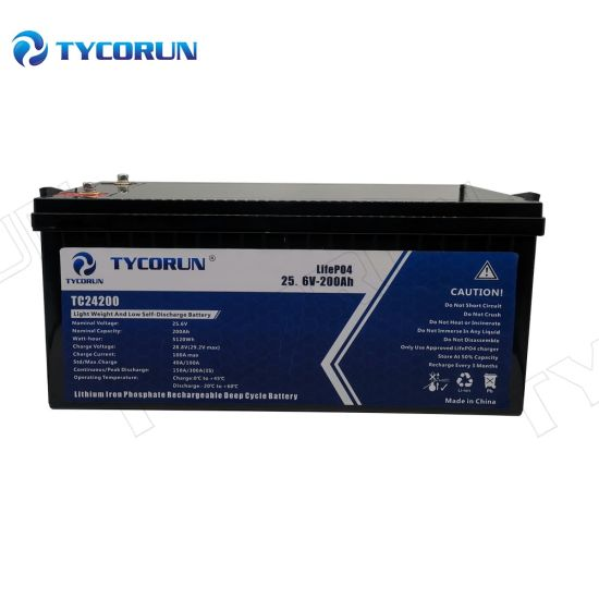 Tycorun 200ah 24 Volt Lithium Ion Battery Pack Solar Battery Storage System