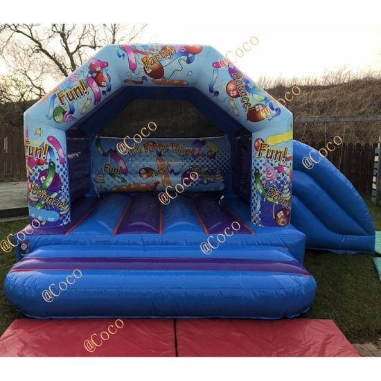 2019 New Inflatable Jumping Bouncer, Birthday Party Inflatable Bouncy House Jumping Castle Combo pictures & photos