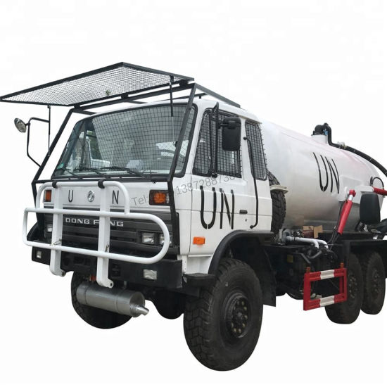 Dongfeng 6X6 Full Wheels Drive Oil Truck Diesel Fuel Tank