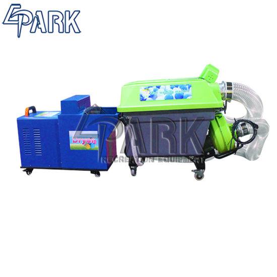 Amusement Indoor Soft Playground Ball Pool Pit Washing Machine Electric Machine for Sale