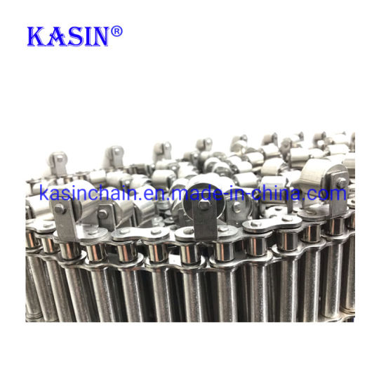 Stainless Steel Industrial Transmission Roller Chain with High Tensile Strength for Driving Machine 80ss