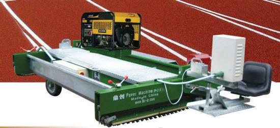 Paver Machine for Running Track