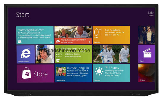 65inch 10points IR Interactive Touch Panel pictures & photos