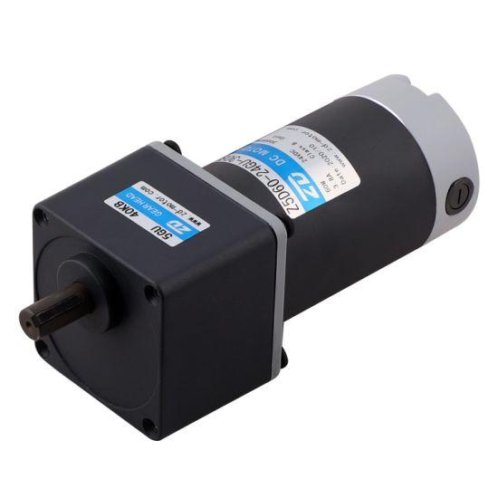ZD 90mm 60W 90W 120W Electric DC Gear Reduction Motor
