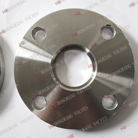 Stainless Steel Flange for Butterfly Valves Pipe Fitting Flange Plate