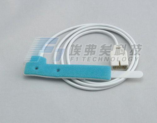 Nellcor 7 Pin Disposable Blue Sponge SpO2 Sensor