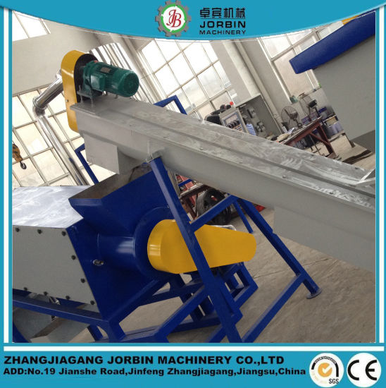 500kg/H LDPE HDPE PP Agricultural Film Recycling Washing Line