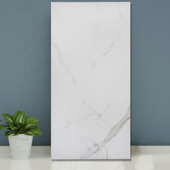 Hotel Decorative Oriental White Marble Look 1200X600 Floor Tile